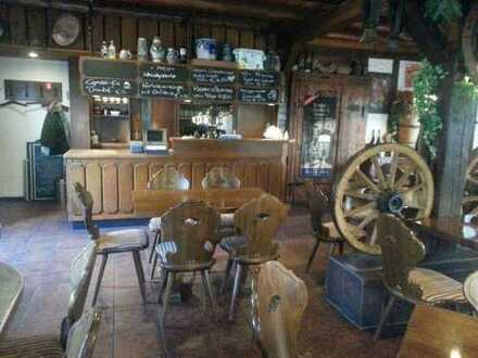 Schönes Restaurant-Weinlokal