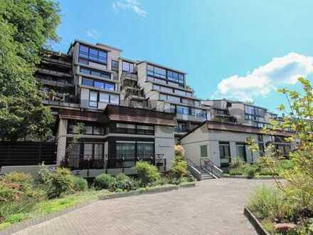 Gehobenes Wohnen in zentraler Lage: 1-Zi.-ETW mit Balkon und TG-Stellplatz in Weinheim