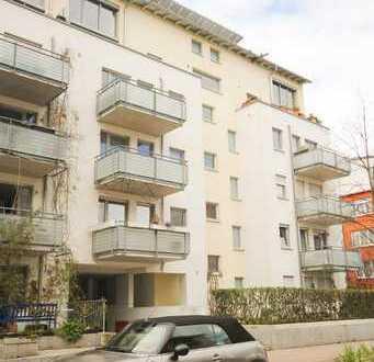 Freiburg-Rieselfeld ++ Vermietete 4 Zi-Wohnung im 1.OG mit 2 Balkonen