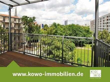 4-Zimmer-Wohnung mit Balkon und vielem mehr in saniertem Altbau in Leipzig Zentrum-Süd