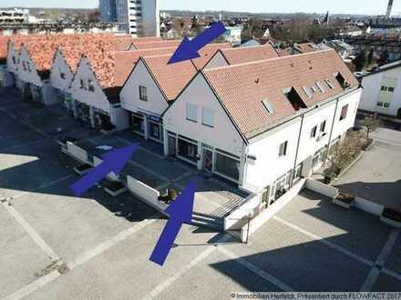 Großzügiges Büro/Praxis mit zusätzlichem 1-ZKB-Apartment im Zentrum von Kaufering