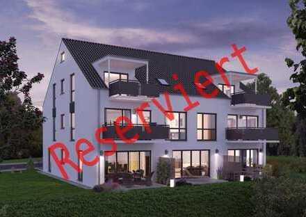 TOP-NEUBAU-3 Zimmer-Maisonette-Wohnung mit großem Gartenanteil in Neukeferloh