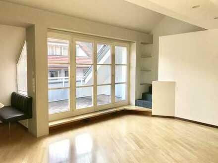 Frisch renovierte 3,5-Zimmer-Wohnung mit Dachterrasse in Waldshut-Tiengen