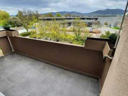 Erstbezug nach Sanierung: freundliche 4-Zimmer-Wohnung mit Einbauküche und Balkon in Ladenburg
