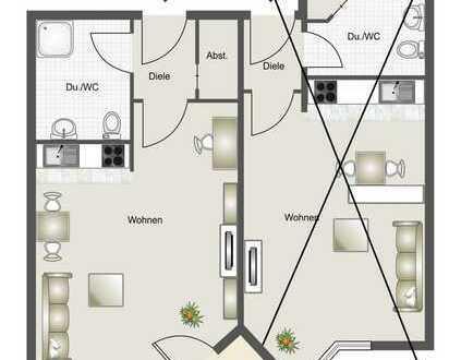 **** AC nahe Westpark; Schönes 1-Zi.-Appartement in Reichweite von Klinikum / RWTH / Innenstadt ****