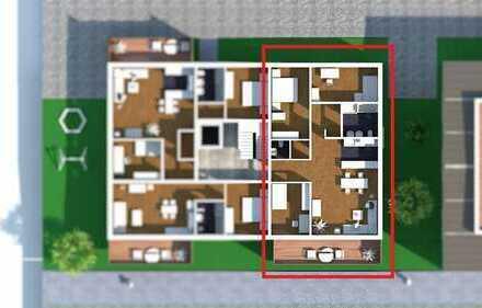 Geschickte Raumaufteilung mit großen Fensterfronten