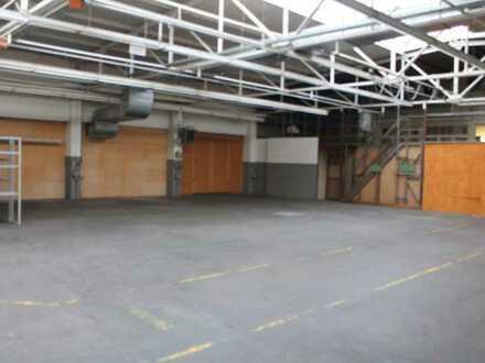 ca. 400 qm Hallenfläche mit Freifläche zu vermieten !