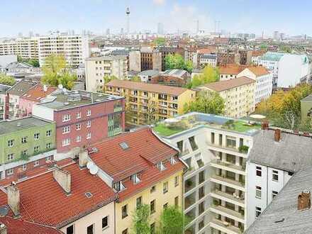 Schöne 4-Zimmer-Wohnung auf ~135m² mit Süd-Loggia + 2 Bädern im Mariannen Quartier Berlin-Kreuzberg
