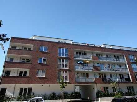 Neuwertige 4 Zimmer Wohnung mit Balkon in Borgfelde