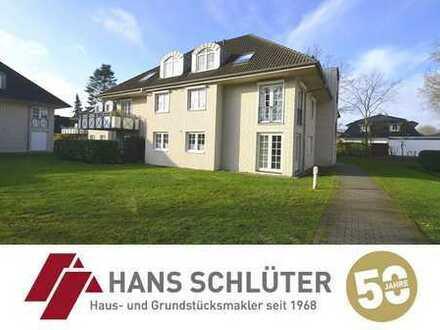 Stilvolle 3 Zi.-Wohnung mit Balkon und Einzelgarage in Oberneuland!!