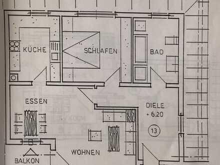 Schöne & zentrumsnahe 2-Zimmer-Wohnung in Illertissen