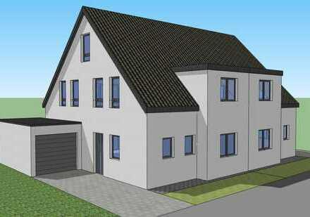 Zwei hochwertige Doppelhaushälften mit Garagen