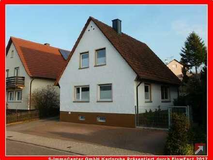 Bevorzugte Wohnlage von Malsch! Gepflegtes, freistehendes Einfamilienwohnhaus mit großem Garten