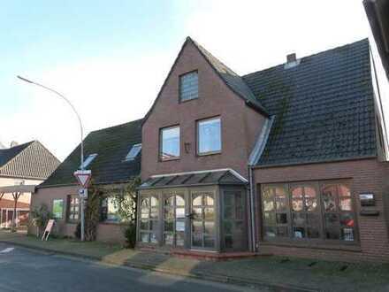 Wohn- und Gewerbehaus Mit großzügigem Grundstück und Gewächshäusern