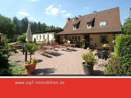 **Ausflugslokal - idyllisch gelegen am Wiesbüttsee mit Campingplatz **
