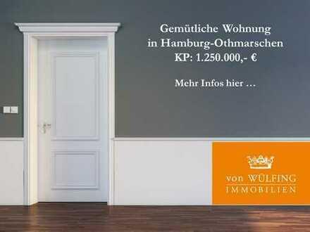 Gemütliche Wohnung in Hamburg-Othmarschen...
