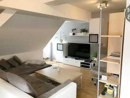 gemütlich 2-Zimmer Dachgeschosswohnung im grünen Eberswalde