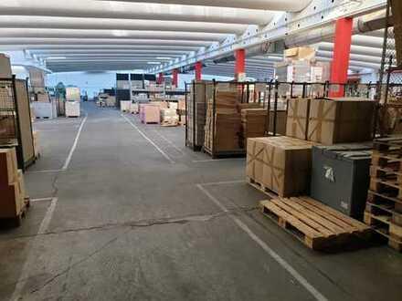 1.504 m² Hallen-/Lager- oder Werksfläche zentral in Fürth | auch weitere Teilflächen