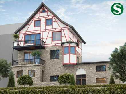 Schöne 2 - 3 Zimmer-Wohnung mit Terrasse und Erker