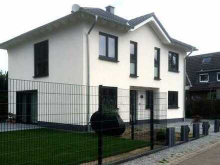 Freistehende Stadtvilla in Rheinberg Borth - schlüsselfertiger Neubau inkl. großem Grundstück