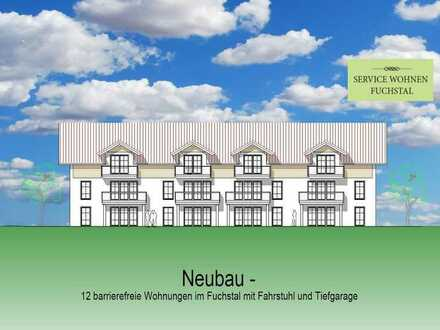 3 Zimmer Wohnung OG Mitte West in schicker Wohnanlage mit 12 Wohneinheiten in Asch