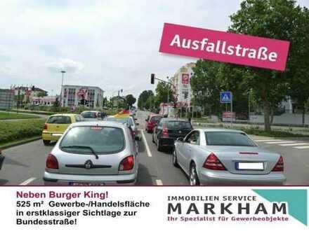 Einer der Top Lagen in Kaiserslautern! Gut für Einzelhandel, Ausstellung, Handelsketten u.v.m.!
