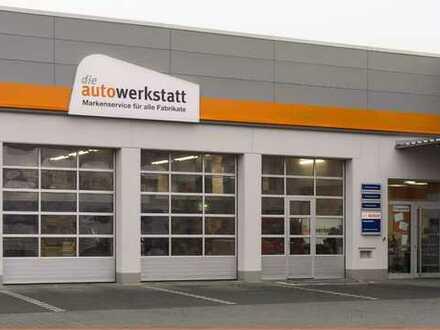 KFZ-Werkstatt mit 4 Arbeitsplätzen in bester Lage an Hauptstaße