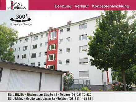 Gut geschnittene 4 Zimmer-Wohnung mit Balkon