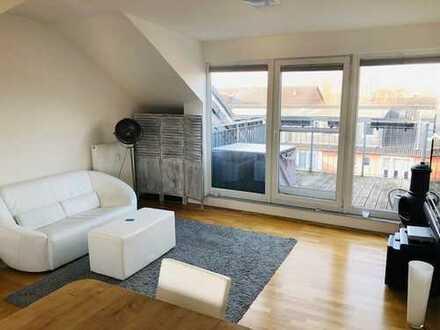 Traumhafte 2 - Zimmer - ETW mit Terrasse über den Dächern von Düsseldorf Unterrath