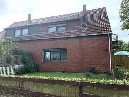 Doppelhaushälfte mit Terrasse und Balkon in Ahausen