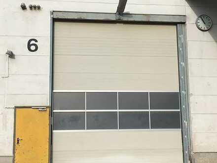 Hallen-Lagerfläche/Box, 60 qm, mit LKW gut anfahrbar, Rolltor - im Gewerbepark Pfaffenhofen