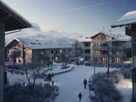 Moderne 2-Zimmer-Wohnung mit 2 Terrassen im Zentrum Garmisch-Partenkirchens
