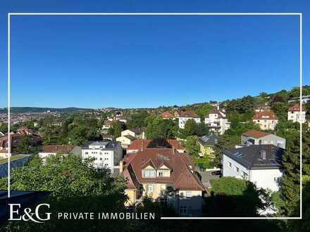 Erstbezug: 4-Zimmer-Dachgeschoss-Wohnung in exklusiver Halbhöhenlage am Killesberg