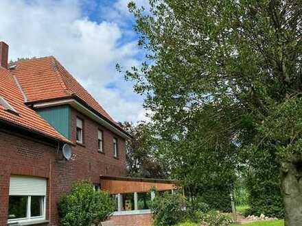 Gepflegtes 7-Zimmer-Farmhaus mit Einbauküche in Velen, Velen