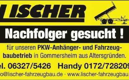Lischer-Fahrzeugbau + Wohnblockhaus/See + Nachfolger gesucht
