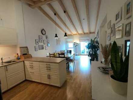 Traumhafte 3-Zimmer-Penthouse-Wohnung mit herrlichem Balkon in Ingolstadt