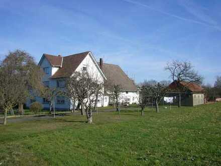Hofanlage mit 5 Wohnungen, Scheune und 6 Garagen!