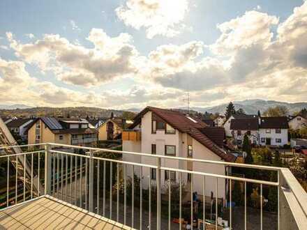 Attraktive 4-Zimmer-Wohnung im Herzen von Gundelfingen *ERSTBEZUG*
