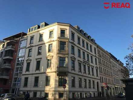 Top Lage in Leipzig! Vermietete großzügige 1-Raum Wohnung in der beliebten Südvorstadt!