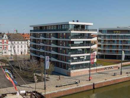 Neuer Hafen // Erstklassige Mietwohnung mit atemberaubendem Wasserblick