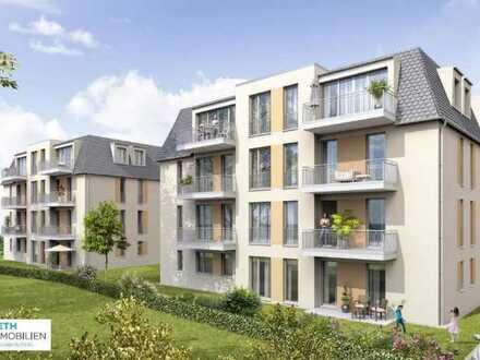 SCHÖNE 3 Raumwohnung im ERSTBEZUG NEUBAU mit hochwertiger Ausstattung, Balkon,Stellplatz, EBK