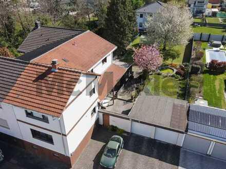 Ausbaufähiges Familienheim in Frankenthal: Einfamilienhaus mit großer Gartenoase
