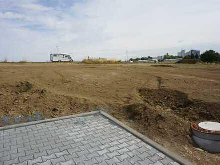 Südhang Grundstück im neuen Wohngebiet