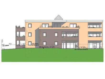 Penthouse-Wohnung mit großer Dachterrasse und Balkon!! Wohnfläche 124,5 qm, Baubeginn jetzt.