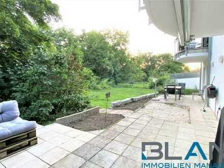 Terrasse und Garten! Große 4-Zimmer-Wohnung in Heilbronn Biberach