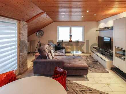 Top-gepflegte 3-Zimmer-Wohnung mit schönem Dachbalkon nahe Stuttgart