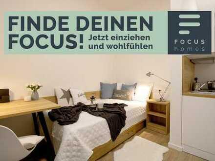 FOCUS HOMES - Exklusiv für Studierende - NEUBAU Erstbezug - All-inclusive Miete - WG-Zimmer in 3erWG