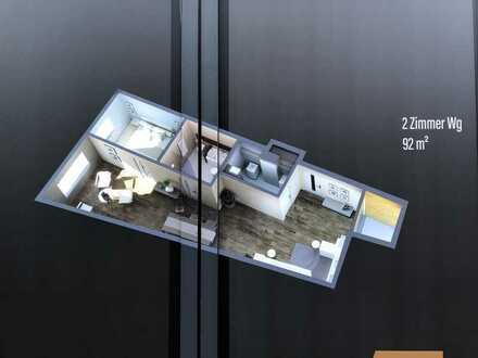 Erstbezug, ansprechende 2-Zimmer-Wohnung mit Balkon in Marktheidenfeld