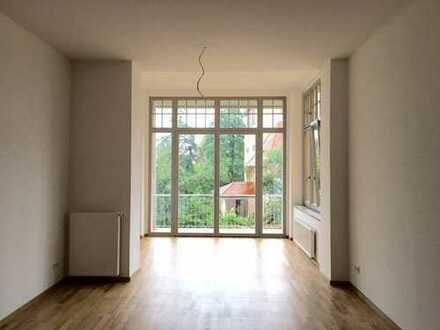 sanierte 4- Raum- Maisonettewohnung in der Nikolaivorstadt mit Terrasse