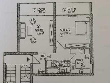 Helle 2-Zimmer-Wohnung inkl. Einbauküche